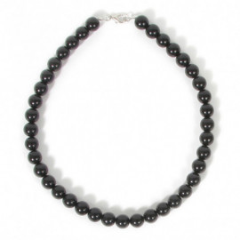 COLLAR CRISTAL GLASS NEGRO